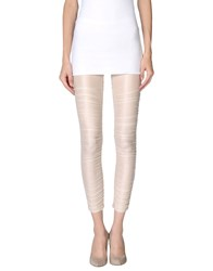 Patrizia Pepe Trousers Leggings Women Beige
