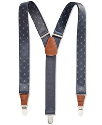 Club Room Men's Nautical Suspenders Only At Macy's Navy