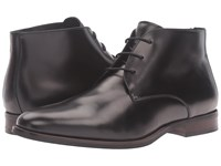 Dune Moreton Black Leather Men's Shoes