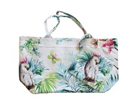 Marinette Saint Tropez Carioca Lagoon Shopping Bag White