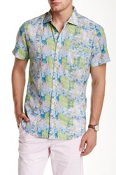 Ganesh Short Sleeve Printed Slim Fit Shirt Multi
