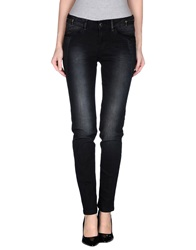 Desigual Denim Pants Black