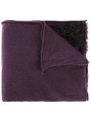 Rundholz Knitted Scarf Pink Purple