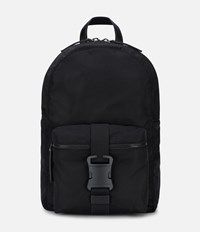Christopher Kane Safety Buckle Backpack Black