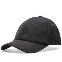 Paul Smith Melton Wool Cap Grey