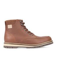 Lacoste Brown Montbard Pr Laced Boots