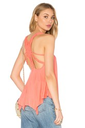Sky Areagan Top Peach