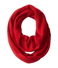 Calvin Klein Soft Acrylic Infinity Rouge Scarves Red