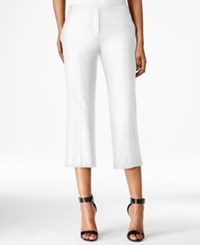 Bar Iii Culotte Pants Only At Macy's Washed White