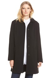 Gallery Hooded Nepage Raincoat Black