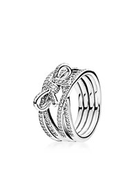 Pandora Design Pandora Ring Sterling Silver And Cubic Zirconia Delicate Sentiments