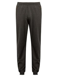 Tomas Maier Zip Pocket Cotton Blend Track Pants Dark Grey