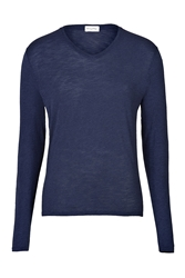 American Vintage Stretch Cotton Long Sleeve T Shirt