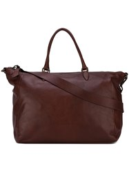Zanellato 'Postina L' Luggage Bag Brown