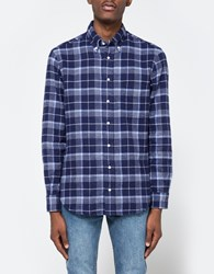 Gitman Brothers Vintage Flannel Button Down In Blue