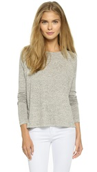 Rag And Bone Camden Long Sleeve Tee Oxford Grey