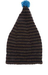 Grevi Men's Striped Wool Blend Slouchy Hat No Color