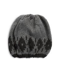 Wooden Ships Slouchy Knit Beanie Grey