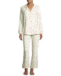 Bedhead Dot Print Classic Pajama Set Holiday Holiday Dots