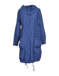 Essentiel Full Length Jackets Blue