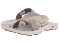 Columbia Techsun Vent Slide Pfg British Tan Khaki Mhw Men's Sandals Gray