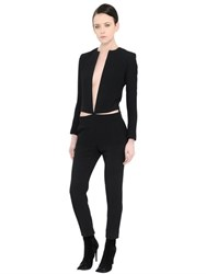 Haider Ackermann Cut Out Crepe Jumpsuit