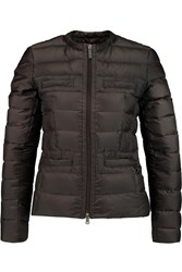 Add Quilted Shell Jacket Brown