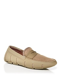 Swims Penny Loafers Khaki