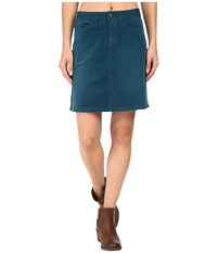 Prana Trista Skirt Deep Balsam Women's Skirt Blue