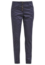 Tom Tailor Trousers Real Navy Blue Dark Blue