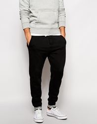 Abercrombie And Fitch Sweat Joggers With Cuff Black