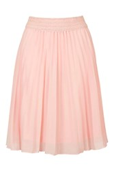 Pleated Midi Skirt By Rare Pink