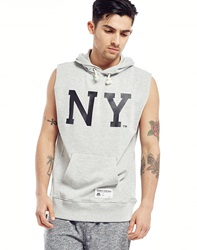 Majestic Athletic Topliss Ny Cut Off Sleeveless Hoodie