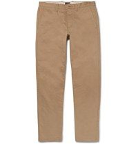 J.Crew Urban Slim Fit Cotton Twill Chinos Brown