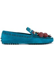 Tod's 'Gipsy' Loafers Blue