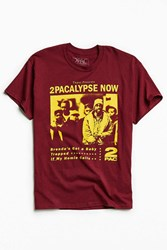 Urban Outfitters 2Pacalypse Now Tee Maroon