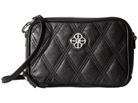 My Flat In London Windsor Double Zip Camera Bag Black Shoulder Handbags