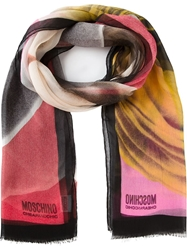Moschino Cheap And Chic 'Face' Scarf