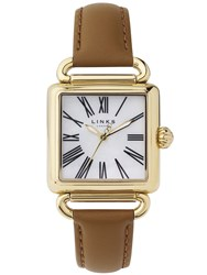 Links Of London Driver White Mother Of Pearl Watch