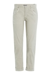 Citizens Of Humanity Cropped Corduroy Pants Beige