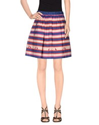 Marc By Marc Jacobs Skirts Knee Length Skirts Women Blue