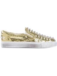 Gienchi Studded Glitter Sneakers