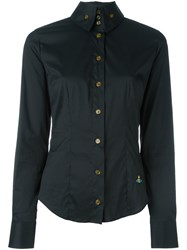 Vivienne Westwood Red Label Slim Fit Longsleeved Shirt Black