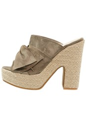 Kmb Mauro Sandals Clay Khaki