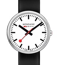 Mondaine A7633036211sbb Swiss Railways Stainless Steel Watch White