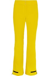Fendi Twill Ski Pants Yellow