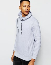 Nana Judy Hoodie With Cowl Neck Grey