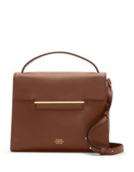 Vince Camuto Aster Leather Satchel Russet