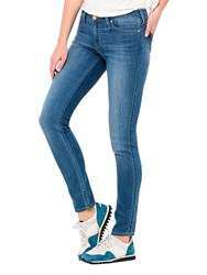 Lee Scarlett Regular Waist Skinny Jeans Blue Stone