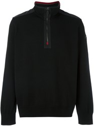 Paul And Shark Zip Up Jumper Black